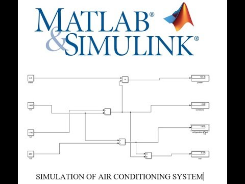 ANNA UNIVERSITY SIMULATION PRACTICAL MATLAB MODEL FOR AIR CONDITIONING  SYSTEM TUTORIAL