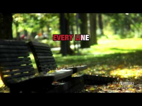 Love Letters : Alison Moyet   Karaoke With Lyrics