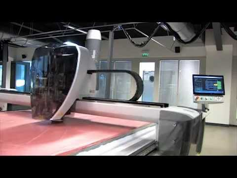 Lectra Fabric Cutting Machine: See Vector® in action - YouTube
