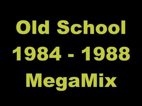 Old School 1984 - 1988 MegaMix - (DJ Paul S)