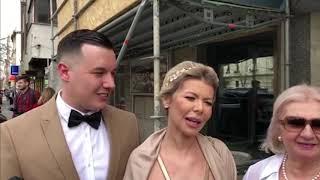 Karić Mileusnić: Izjava srećnog para nakon venčanja - 08.03.2019.