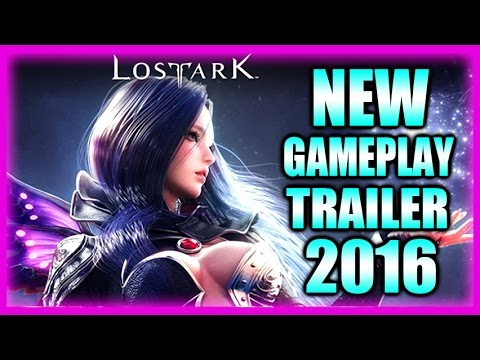 LOST ARK 2016 New FULL HD Gameplay Trailer for Beta Test 1080