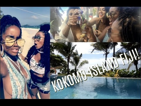 TRAVEL VLOG BUCKET LIST: Kokomo Island Fiji with Smashbox