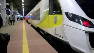 Поезда в Польше. Poznan. Познань 2016