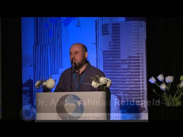 Dr. Abdurrahman Reidegeld, Das Streben nach Wissen, Vereint im Islam 2015
