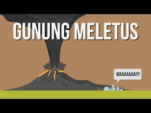 Kenapa Gunung Berapi Meletus?