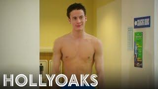 Luke Morgan's First Scene on Hollyoaks
