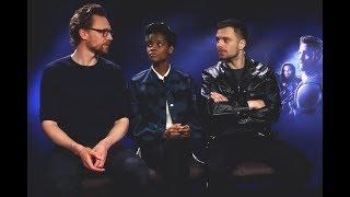 Интервью Себастиана Стэна, Летиши Райт и Тома Хиддлстона для IGN Deutschland (русские субтитры)