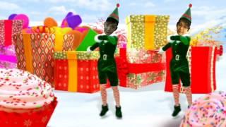 Smurfs, Merry Christmas! ( We wish you a merry Christmas)