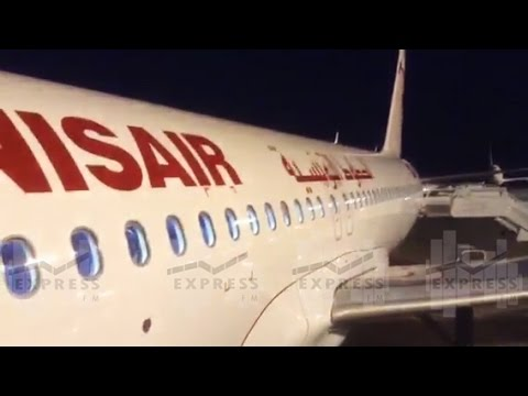 tunisair rceptionne son premier a320 quip de sharklets youtube