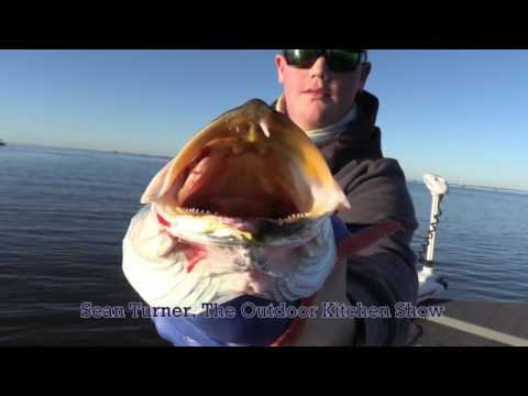 Cool weather inshore fishing, Golden Meadow, LA, Chad Billiot