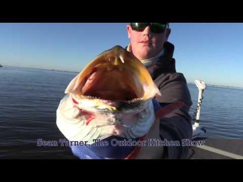 Cool Weather Inshore Fishing, Golden Meadow, LA, Chad Billiot