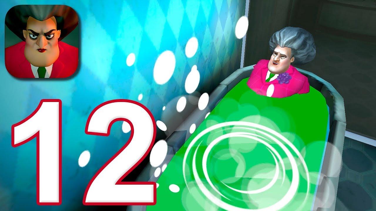 Download Scary Teacher 3D - Gameplay Walkthrough Part 12 - Sticky Mess