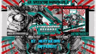 KCRCD007 - V.A. - Speedcore Invasion Vol. 2 - X-Fade Demo