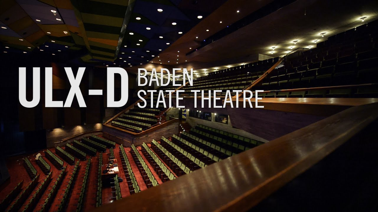 baden state theatre uses shure ulx d digital wireless microphone system youtube. Black Bedroom Furniture Sets. Home Design Ideas