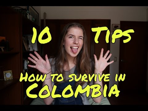 HOW TO SURVIVE IN COLOMBIA - 10 TIPS AND TRICKS!! #jackiegoescolombia