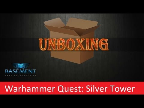 TBMC - Unboxing - Warhammer Quest: Silver Tower