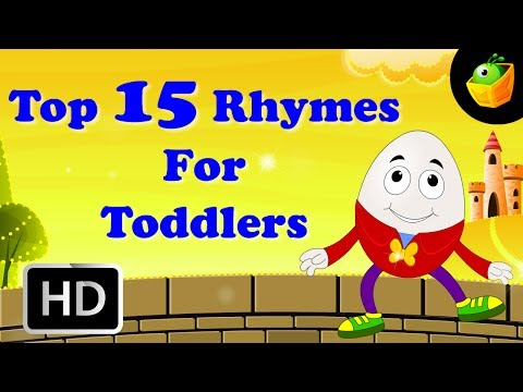 Thumbnail: Top 15 Hit Songs For Toddlers | Collection Of Cartoon/Animated English Nursery Rhymes For Kids