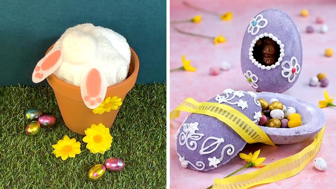 10 Fun Easter Crafts To Make At Home Youtube