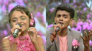 Cover images Paadam Namukku Paadam | 'Pookkale Satru' song by Aravind & Nima | Mazhavil Manorama