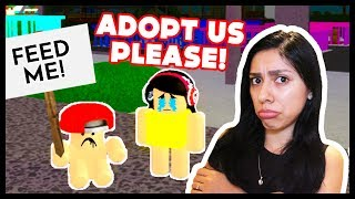 ADOPT E RAISE A CUTE KID! - Roblox - NO ONE WANTS TO ADOPT US!