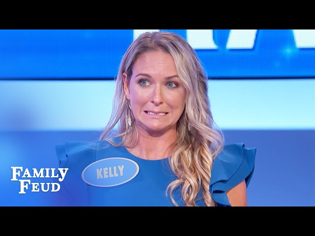 The Rahn family gets a shot at a new car! | Family Feud