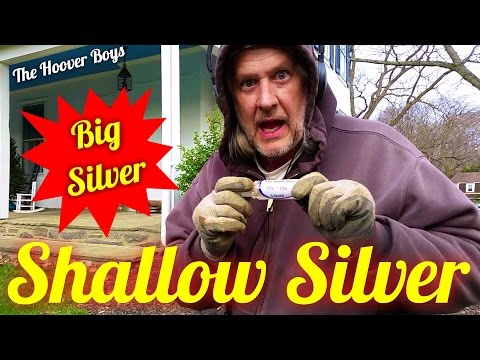 Metal Detecting Best Silver Day Ever   Shallow Silver