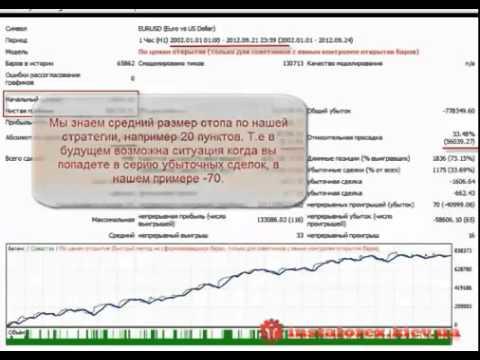 Форекс  Обучающее видео  Как создать свою торговую систему  Урок 9 1