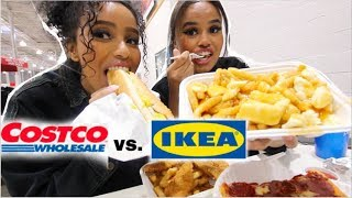 IKEA vs. COSTCO FOOD (TASTE TEST)