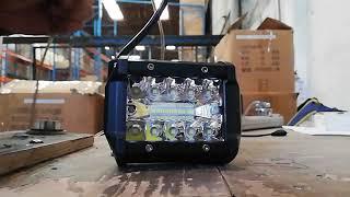 DL455 FARO AUXILIAR PARA MOTO-AUTO-CAMIÓN 20 HIPER LEDS 8000Lm DUALLY