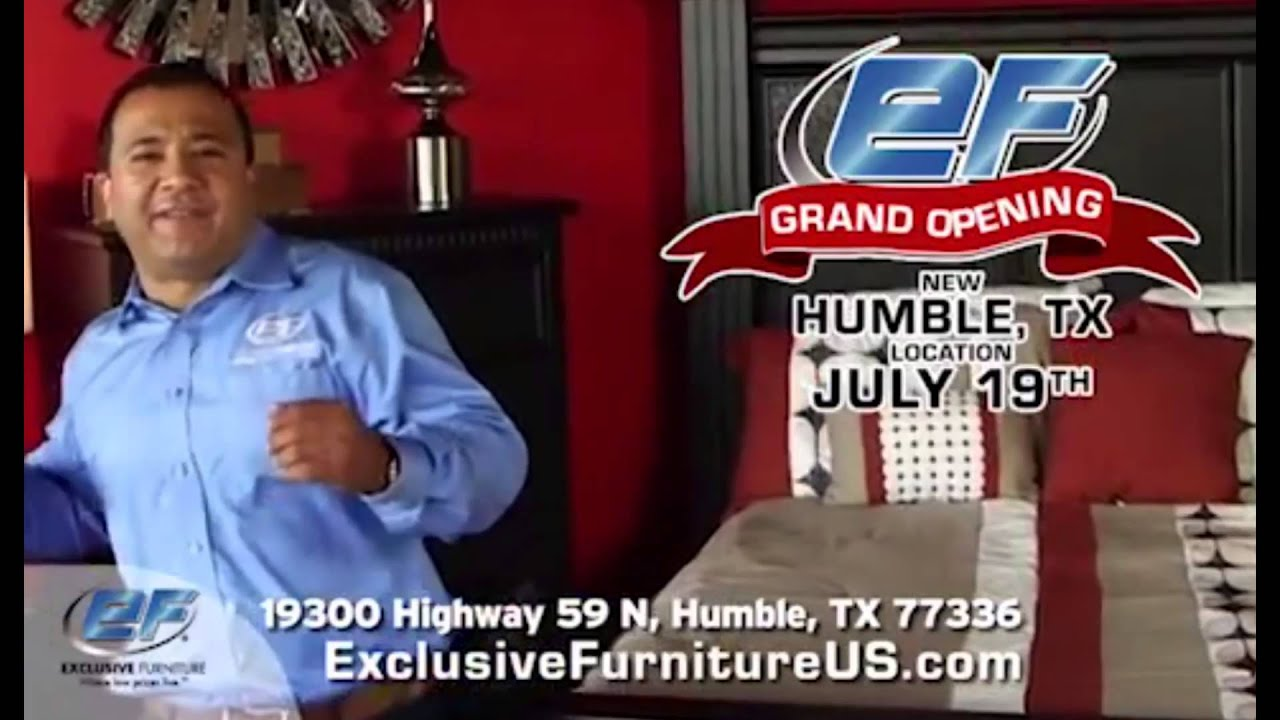 Super Sam Talks With 93Q Houston About Exclusive Furnitureu0027s Grand Opening  In Humble, Texas