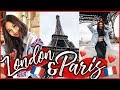 LONDON + PARIS TRAVEL VLOG! 🇬🇧❤️🇫🇷 | Roxette Arisa Vlogs