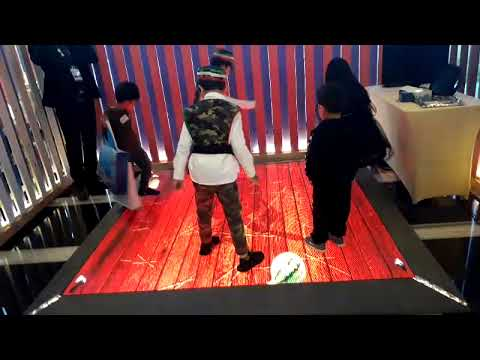 INTERACTIVE FLOOR LED - KUWAIT