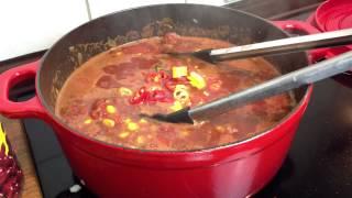 Tipp: Herzhaft scharfes Coffee Chili kochen - Original Texanisches Chilli Con Carne zubereiten