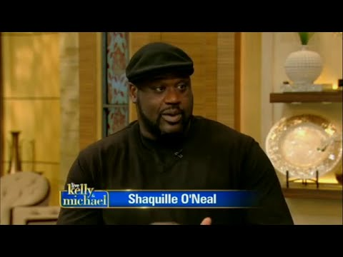Shaquille O'Neal  ! Live with Kelly and Michael Oct 6th, 2015