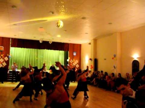 Performance Team Tango Cha Cha Dance At Inspiration 2 Dance Summer Ball 2011