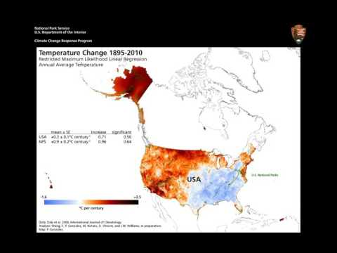 Climate Change Trends, Impacts, Vulnerabilities, and Carbon in U.S. National Parks
