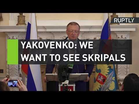 Yakovenko: We want to see Skripals