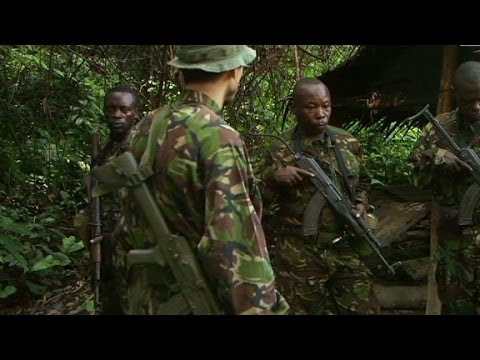 Chasing elephant poachers in Congo