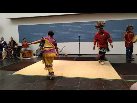 Smoke Dance by the Nottoway Indian Tribe of VA, VMFA Family Day 2017