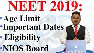 NEET 2019 Application Form   NEET 2019 Registration   NEET 2019 Eligibility   MBBS in India   Edunom