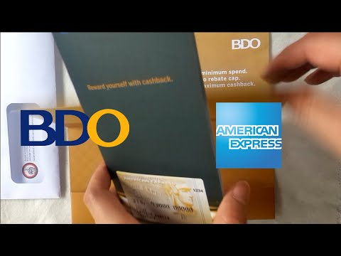 American Express Cashback Credit Card Unboxing