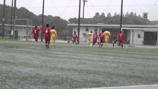 2013山口県リーグ インディゴ山口-宇部ヤーマン #27楠のゴール
