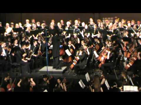 Lord of the Rings - Howard Shore arr. John Whitney, All Orchestras, Arlington High School
