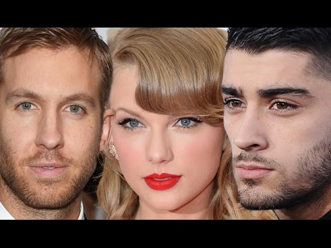 Taylor Swift Reacts To Zayn Malik & Calvin Harris Feud