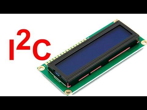 1602 подключаем по I2C