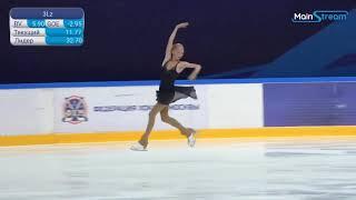 Violetta FILONETS Ladies Short Program 9 Moscow Junior Championships 2020 9 4