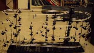 space rails (spacewarp marble run toy)-with music