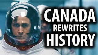 Canadians Rewrite Moon Landing History, Removing USA Flag