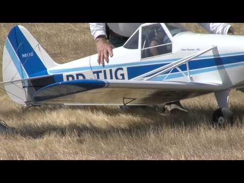 RC Piper PA-25 Pawnee first flight @ Los Banos SBSS